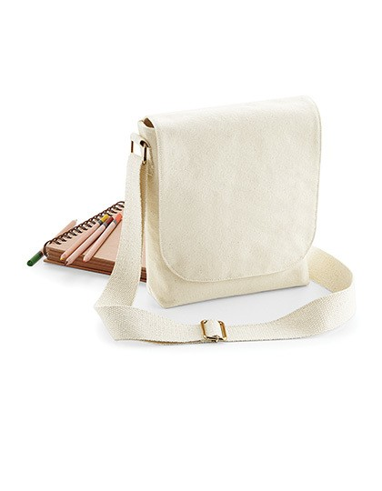 Fairtrade Cotton Canvas Mini Messenger Westford Mill W460 - Torby na ramię