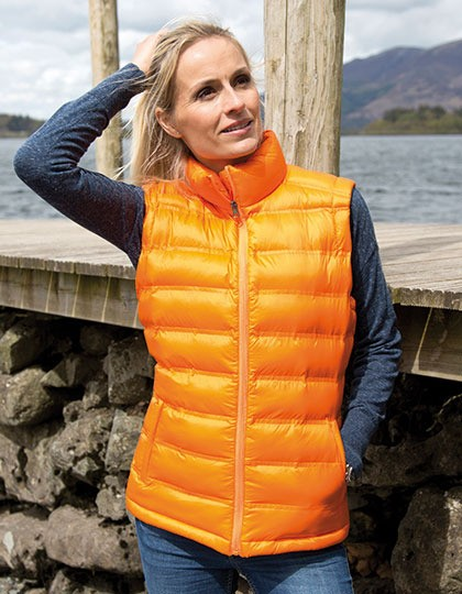 Ladies Ice Bird Padded Gilet Result R193F