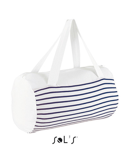 Striped Jersey Duffel Bag Sunset SOL´S Bags 02122