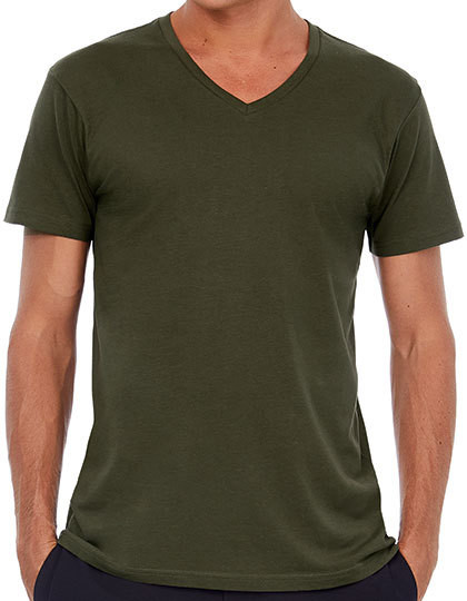 V-Neck T-Shirt /Men B&C TM044