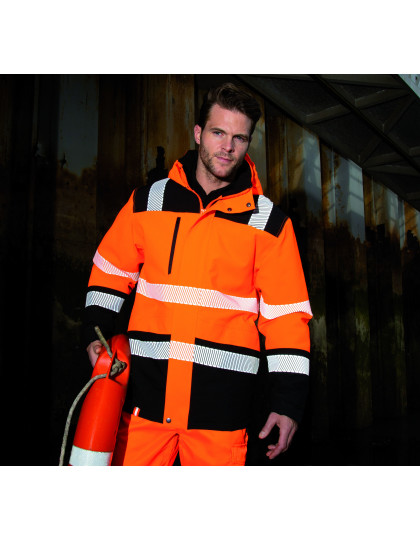Printable Waterproof Safety Coat Safe-Guard R475X - Kurtki