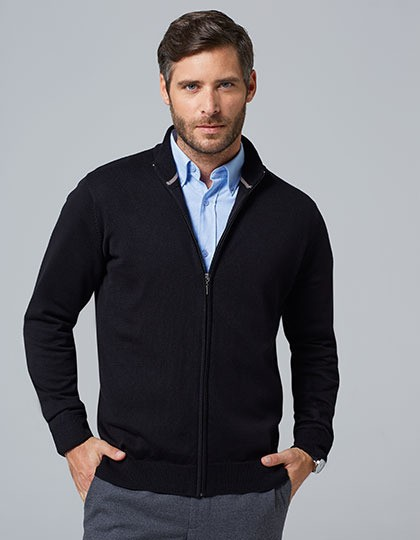 Zipped Knitted Cardigan Gordon Men SOL´S 00548 - Swetry męskie