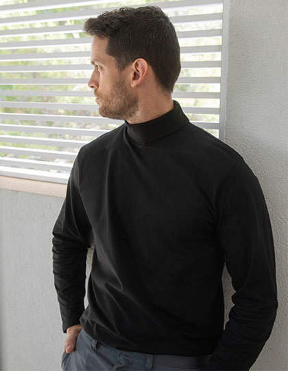 Koszulka Roll-Neck Long-Sleeve T Henbury H020