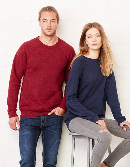 Bluza Unisex Triblend Sponge Fleece Sweatshirt Canvas 3901 - Bluzy