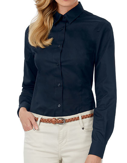 Twill Shirt Sharp Long Sleeve / Women B&C SWT83 - Koszule damskie