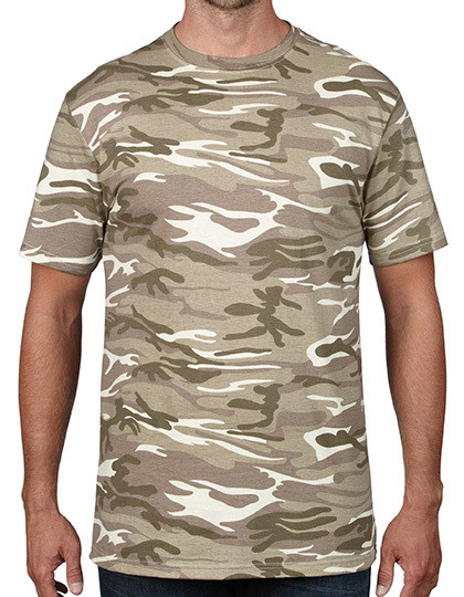 Camouflage Tee Anvil 939
