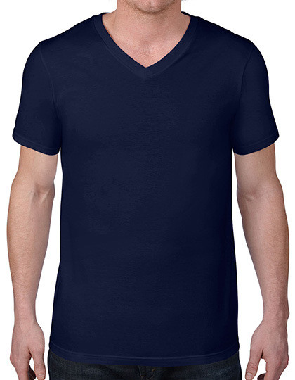 Koszulka męska Fashion V-Neck Tee Anvil 982