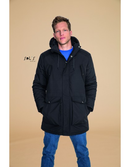 Mens Warm And Waterproof Jacket Ross SOL´S 02105 - Zimowe