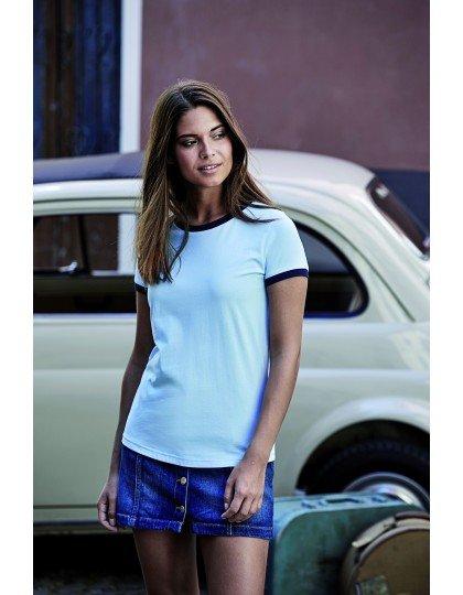 Ladies Ringer Tee Tee Jays 5071