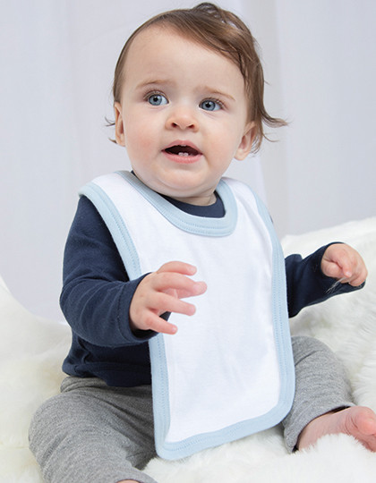 Baby Bib with Ties Babybugz BZ16C