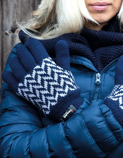 Pattern Thinsulate Glove Result Winter Essentials R365X - Rękawiczki
