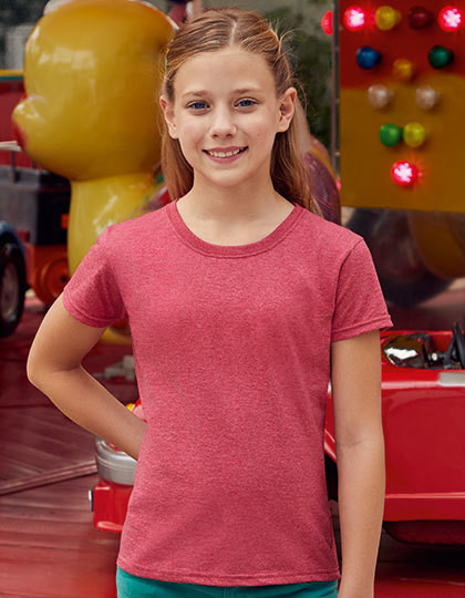Girls Valueweight T Fruit of the Loom 61-005-0